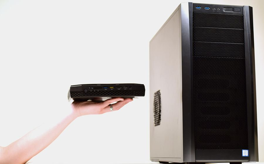Фото - #CES 2018 | Intel представила самый компактный компьютер для виртуальной реальности