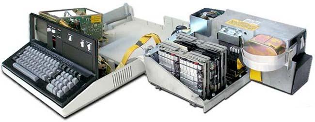 Фото - Офисный труженик. IBM Portable PC 5110