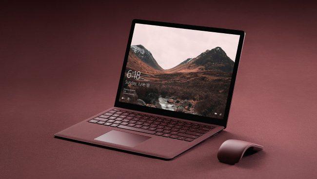 Фото - Microsoft анонсировала ноутбук Surface Laptop под управлением Windows 10 S