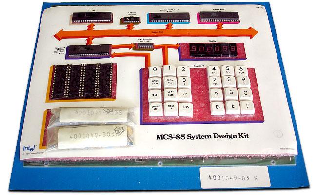 Фото - #чтиво | Ценен каждый байт. Intel MCS-85