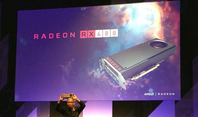 Фото - AMD представила бюджетную видеокарту Radeon RX480