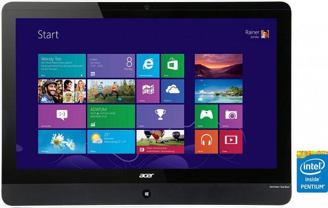 Фото - Acer выпустила 21,5-дюймовый моноблок с батареей