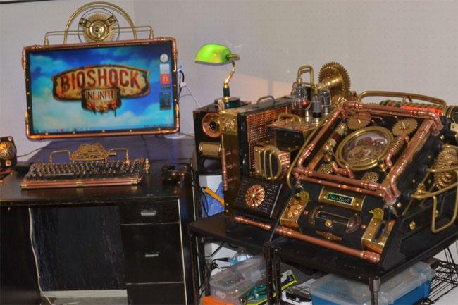 Фото - Компьютерный моддинг в стиле BioShock Infinite