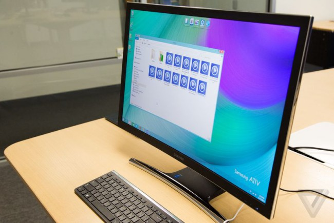 Фото - Samsung объявила о создании изогнутого моноблока