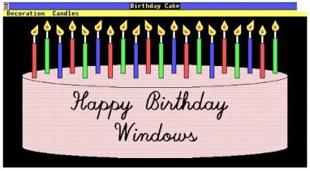 Фото - С Днем Рождения, Windows!