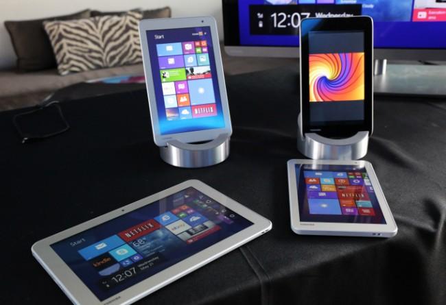 Фото - Toshiba представила новые планшеты и ноутбуки