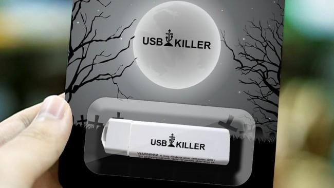 Фото - Новое устройство «заботится» о безопасности вашего компьютера, уничтожая его USB-порт