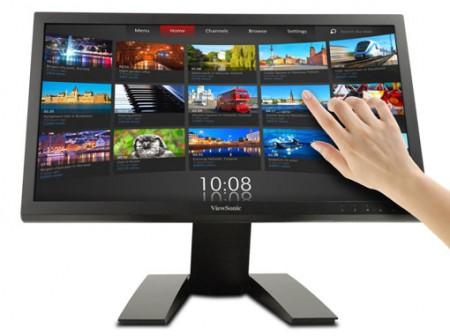 Фото - ViewSonic представила 22-дюймовый сенсорный LED-монитор TD2220