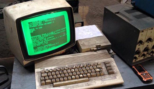 Фото - Автомастерская из Гданьска до сих пор использует Commodore 64